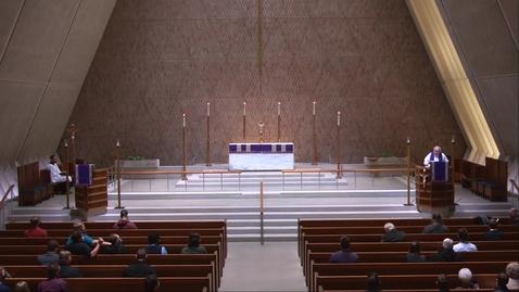 Thumbnail for entry Kramer Chapel Sermon - Tuesday, December 1, 2020