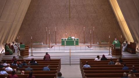 Thumbnail for entry Kramer Chapel Sermon - Wednesday, September 16, 2020