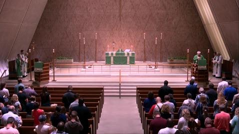 Thumbnail for entry Kramer Chapel Sermon - Wednesday, July 10, 2019