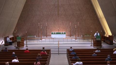 Thumbnail for entry Kramer Chapel Sermon - Thursday, June 25, 2020