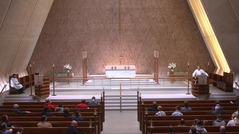 Thumbnail for entry Kramer Chapel Sermon - Monday, April 26, 2021