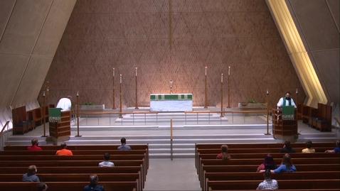 Thumbnail for entry Kramer Chapel Sermon - Thursday, August 20, 2020