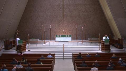 Thumbnail for entry Kramer Chapel Sermon - Monday, October 19, 2020