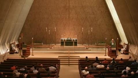 Thumbnail for entry Kramer Chapel Sermon - June 15, 2016