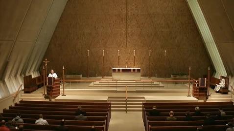 Thumbnail for entry Kramer Chapel Sermon - March 23, 2015