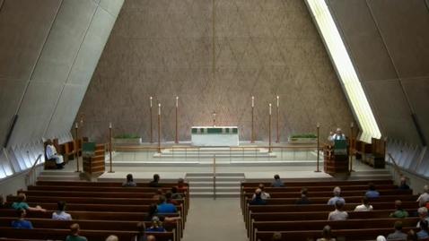Thumbnail for entry Kramer Chapel Sermon - June 23, 2017
