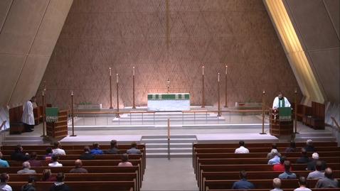Thumbnail for entry Kramer Chapel Sermon - Tuesday, September 28, 2021