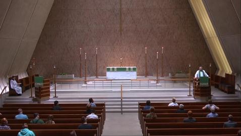 Thumbnail for entry Kramer Chapel Sermon - Tuesday, July 21, 2020