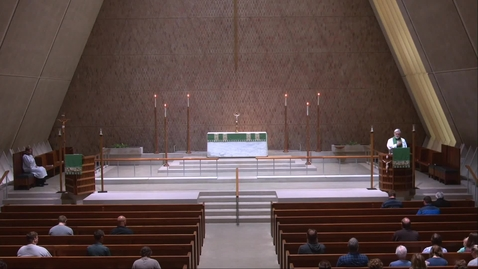 Thumbnail for entry Kramer Chapel Sermon - Friday, July 16, 2021