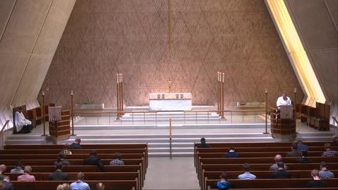 Thumbnail for entry Kramer Chapel Sermon - Monday, April  12, 2021