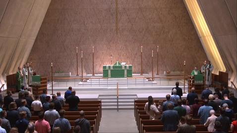 Thumbnail for entry Kramer Chapel Sermon - Wednesday, September 15, 2021