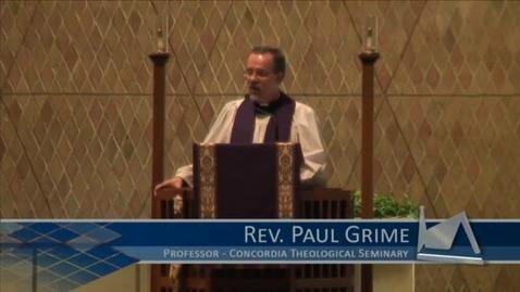 Thumbnail for entry Kramer Chapel Sermon - February 19, 2016