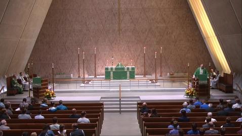 Thumbnail for entry Kramer Chapel Sermon - Wednesdaay, September 8, 2021