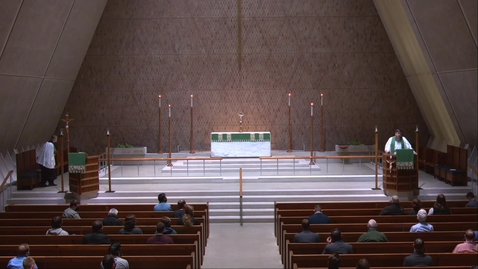 Thumbnail for entry Kramer Chapel Sermon - Monday, October 12, 2020