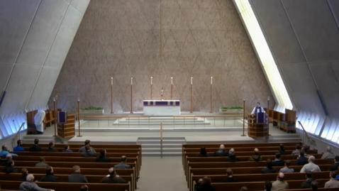 Thumbnail for entry Kramer Chapel Sermon - March 14, 2017