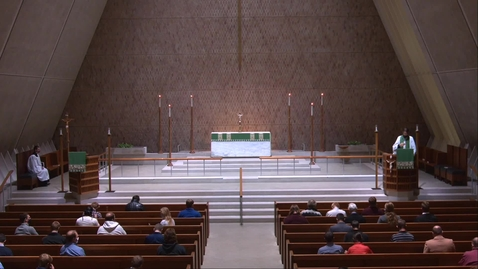 Thumbnail for entry Kramer Chapel Sermon - Tuesday, October 27, 2020