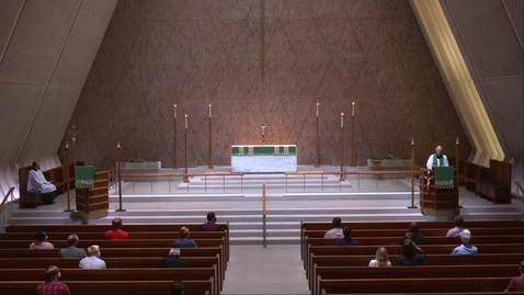 Thumbnail for entry Kramer Chapel Sermon - Tuesday, August 04, 2020