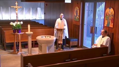 Thumbnail for entry Kramer Chapel Sermon - Monday, April 20, 2020