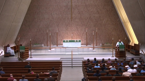 Thumbnail for entry Kramer Chapel Sermon - Tuesday, June 22, 2021