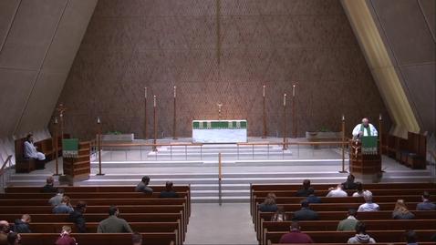 Thumbnail for entry Kramer Chapel Sermon - Thursday, October 01, 2020