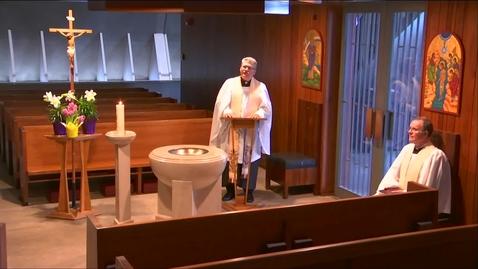 Thumbnail for entry Kramer Chapel Sermon - Friday, April 17, 2020