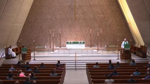 Thumbnail for entry Kramer Chapel Sermon - Friday, October 02, 2020