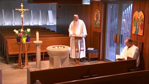 Thumbnail for entry Kramer Chapel Sermon - Wednesday, April 15, 2020