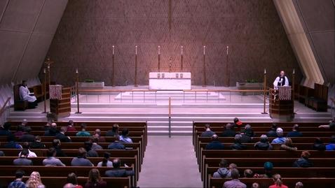 Thumbnail for entry Kramer Chapel Sermon - Monday, January 13, 2020