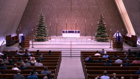 Thumbnail for entry Kramer Chapel Sermon - Monday, December 16, 2019