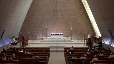 Thumbnail for entry Kramer Chapel Sermon - March 20, 2018
