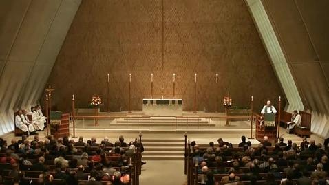 Thumbnail for entry Kramer Chapel Sermon - January 22, 2015