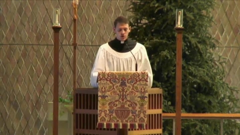 Thumbnail for entry Kramer Chapel Sermon - January 13, 2015