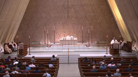 Thumbnail for entry Kramer Chapel Sermon - Wednesday, September 29, 2021