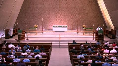 Thumbnail for entry Kramer Chapel Sermon - Tuesday, September 10, 2019
