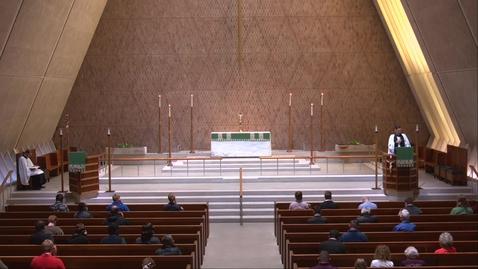 Thumbnail for entry Kramer Chapel Sermon - Friday, November 6, 2020