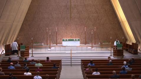 Thumbnail for entry Kramer Chapel Sermon - Tuesday, September 15, 2020