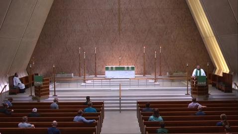 Thumbnail for entry Kramer Chapel Sermon - Friday, June 19, 2020