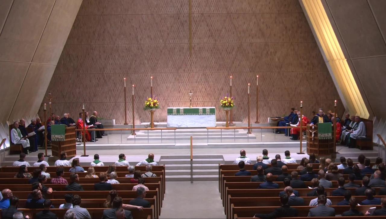 Kramer Chapel Sermon - Tuesday, September 7, 2021