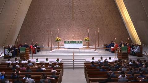 Thumbnail for entry Kramer Chapel Sermon - Tuesday, September 7, 2021