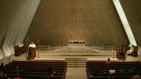 Thumbnail for entry Kramer Chapel Sermon - March 26, 2015