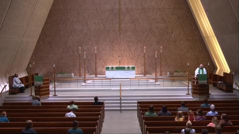 Thumbnail for entry Kramer Chapel Sermon - Thursday, August 06, 2020
