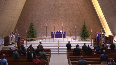 Thumbnail for entry Kramer Chapel Sermon - Wednesday, December 9, 2020