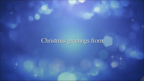 Thumbnail for entry Merry Christmas from CTSFW