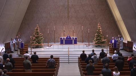 Thumbnail for entry Kramer Chapel Sermon - Wednesday, December 16, 2020