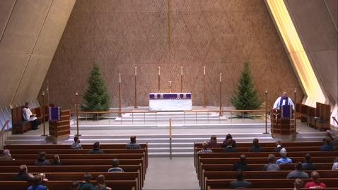 Thumbnail for entry Kramer Chapel Sermon - Friday, December 4, 2020
