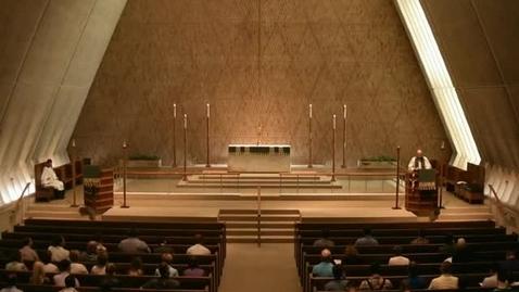 Thumbnail for entry Kramer Chapel Sermon - July 11, 2016
