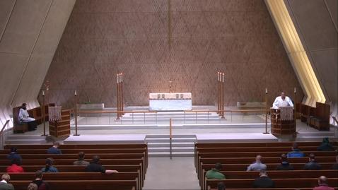 Thumbnail for entry Kramer Chapel Sermon - Friday, April 23, 2021