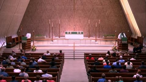 Thumbnail for entry Kramer Chapel Sermon - Thursday, September 19, 2019