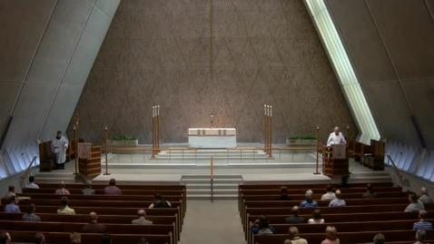 Thumbnail for entry Kramer Chapel Sermon - April 20, 2017