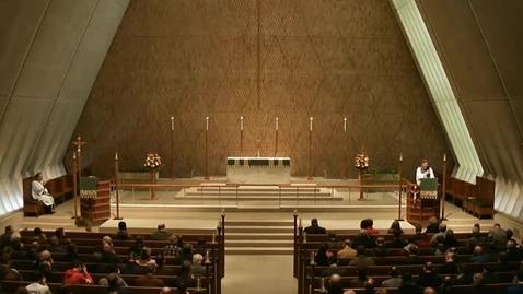 Thumbnail for entry Kramer Chapel Sermon - January 23, 2015